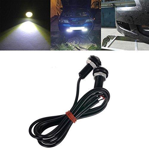 Lumières LED ultra étanches pour voiture 18 mm à l'arrière 9 W