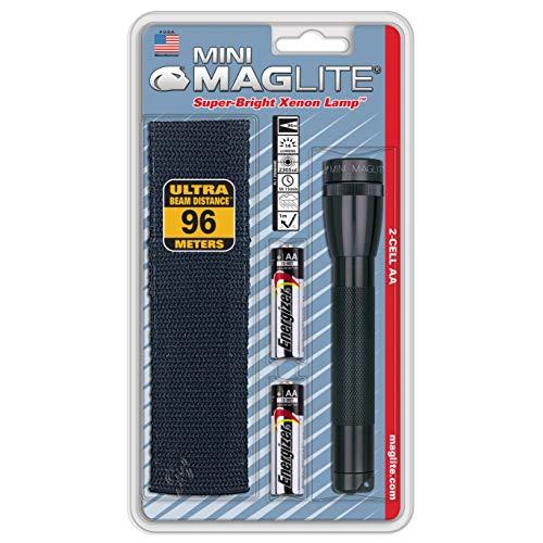 Maglite Holster Combo Pack Linterna, Negro, 14.5 cm