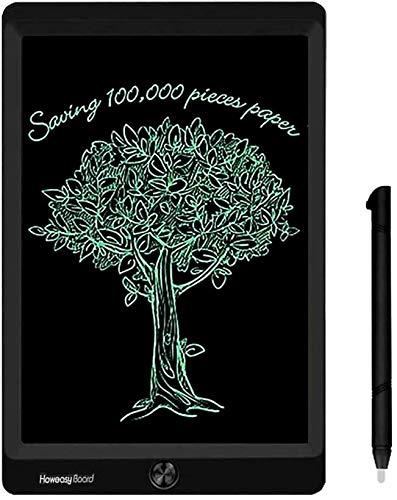 Tavoletta Grafica LCD Scrittura, 8,5 Pollici Elettronica Lavagna Cancellabile Tavolo da Disegno Portatile Lavagnetta Doodle per Bambini Studenti Regalo per Compleanno Natale (Nero)