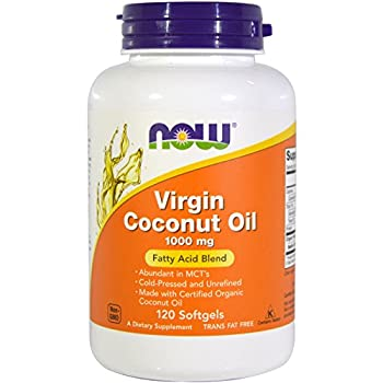 Now Foods Virgin Coconut Oil 120 ct  Pack of 2