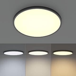 Klighten Plafonnier LED Rond 38W 3420LM, Lampe Plafond Moderne Éclairage de Plafond Luminaire Plafonnier pour Salon Chambr...