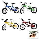iPobie 4 Pcs Miniature Doigt Bicyclette Jouet, Mini Modèle Jouet pour Enfants Garçons