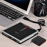 5 in 1 External Bluray DVD Drive USB 3.0 Type-C Blu Ray Drive Player Burner for Laptop Mac MacBook Pro Air Windows 10 Desktop PC