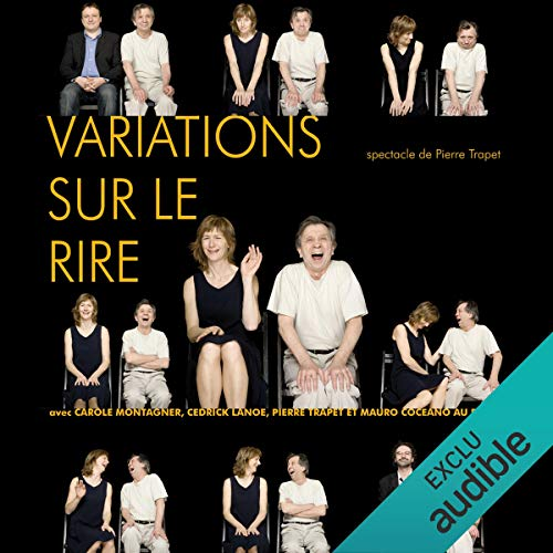 Variations sur le rire audiobook cover art