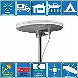 Boat/Caravan/camper/camion digitale omnidirezionale TV/FM amplificata antenna