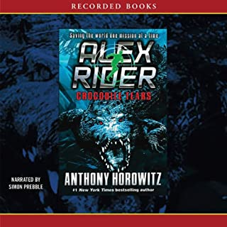 Crocodile Tears     An Alex Rider Adventure              Written by:                                                                                                                                 Anthony Horowitz                               Narrated by:                                                                                                                                 Simon Prebble                      Length: 9 hrs and 36 mins     Not rated yet     Overall 0.0