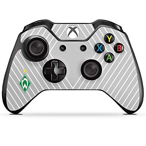 DeinDesign Skin kompatibel mit Microsoft Xbox One Controller Folie Sticker SV Werder Bremen Sterne Trikot
