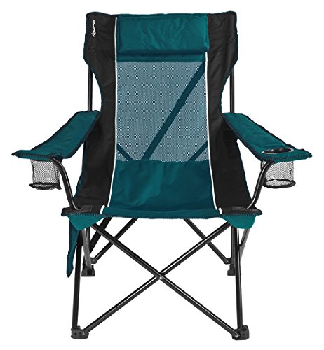 Kijaro Sling Folding Chair, Cayman Blue Iguana