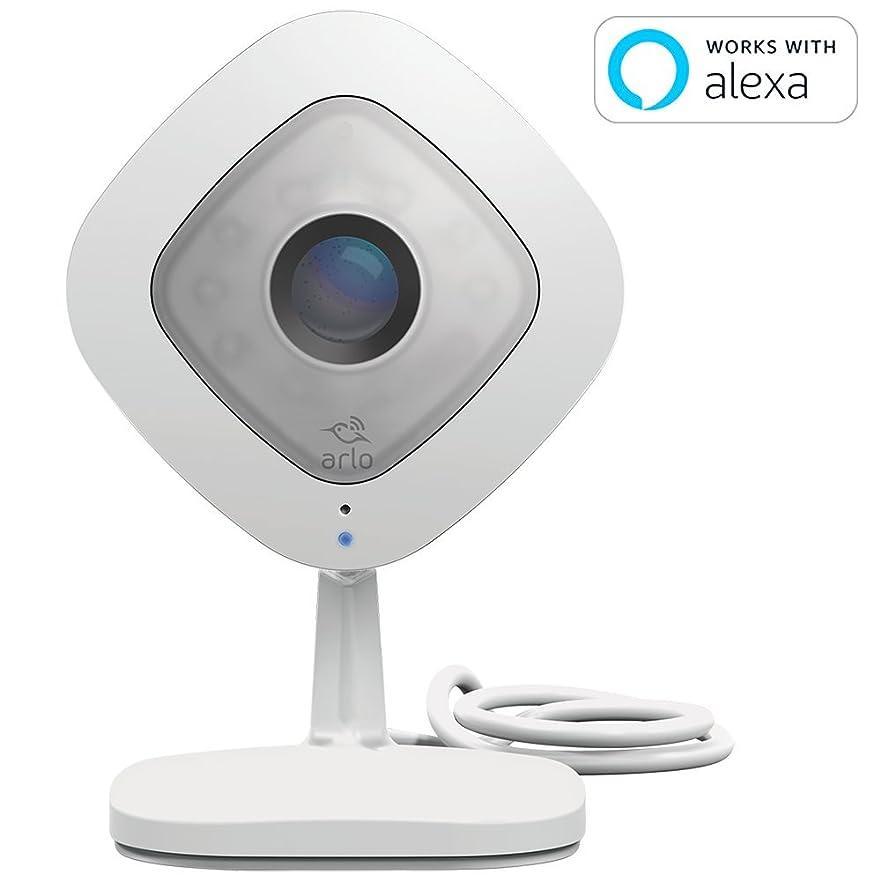 膨らみスポーツマンバンジョー【Works with Alexa】 Arlo ネットワークカメラ 屋内用 音声通話 無料クラウド どこからでも見れる Arlo Q VMC3040-100JPS