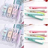 COEASE® Women Beauty Mini Professional Hair Straighteners Flat Iron Specially Designed for Teen (Assorted Color)