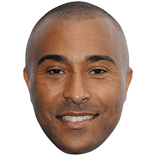 Celebrity Cutouts Colin Jackson (Smile) Big Head. Larger than life mask.