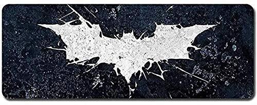 ZDVHM Gaming Mouse Pad Super-héros Batman Grand Clavier Tapis de Souris Jeu Clavier Mat Café Mat Tapis de Souris for Ordinateur PC Extended Bureau Table Souris Tapis Bureau Tapis