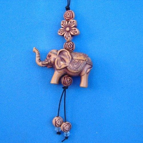 휴대 전화 매력으로 작은 코끼리 매력