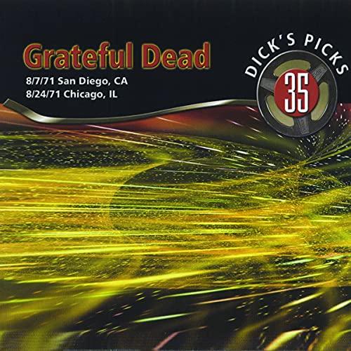 Dick's Picks Vol. 35—San Diego, CA 8 7 71, Chicago, IL 8 24 71 (4-CD Set)