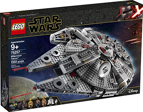 LEGO Star Wars: The Rise of Skywalker Millennium Falcon 75257 Starship Model Building Kit and Minifigures