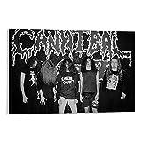 American Death Heavy Metal Band Cannibal...