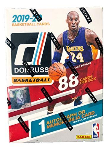 2019/2020 Panini NBA Donruss Basketball Blaster Box 1 Autograph or Memorabilia Card per Box