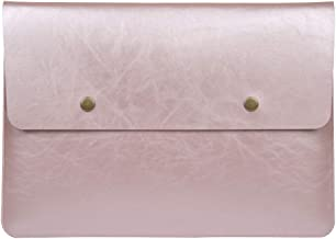 Soyan 13-Inch Retro Laptop Sleeve for MacBook Pro and MacBook Air 13.3 Inches (Rose Gold)