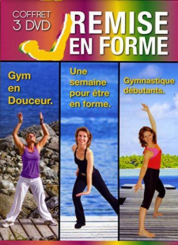 Coffret Remise Gym en Douceur + Une Semaine pour être en Forme + Gymnastique débutants