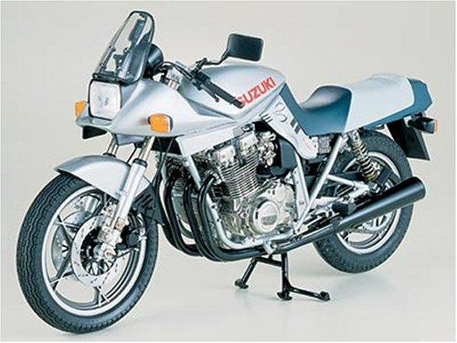 Tamiya 16025 - Motocicleta Suzuki GSX1100S Katana 1980, a escala 1:6, Multicolor, 1 Pieza