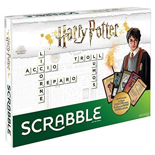 Scrabble Édition Harry Potter, jeu de société et de lettres, version française, GPW41
