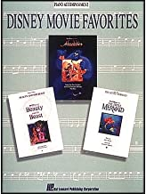 Hal Leonard Disney Movie Favorites Piano Accompaniment for Instrumental Solo Songbooks