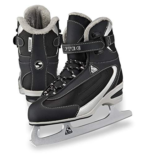 Jackson Ultima Softec Classic Junior ST2321 Kids Ice Skates - Black, Size 1