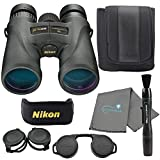 Nikon Monarch 5 10x42 Binoculars (7577) Waterproof/Fogproof Bundle with a Nikon Lens Pen and Lumintrail Cleaning Cloth