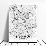 WUCHONGSHUAI Leinwanddruck,Stockholm Schweden