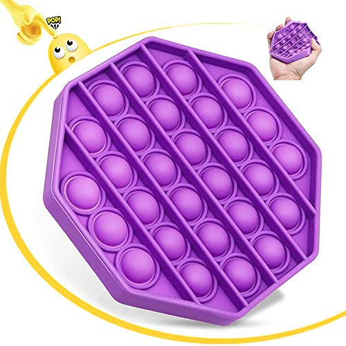 Push Pop Poke Pop Bubble Juguete Fidget sensorial, Juguete Pop It Fidget, Juguete sensorial para apretar, Autismo Necesidades Especiales Alivio del estrés Jugue