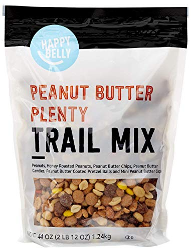 Amazon Brand  Happy Belly Peanut Butter Plenty Trail Mix 44 oz