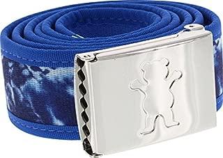 Grizzly Grip Tape New Wave Navy Tie Dye Belt Clamp Belt