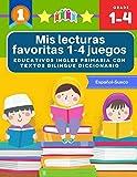 Mis lecturas favoritas 1-4 juegos educativos ingles primaria con textos bilingue diccionario Español Sueco: English reading comprehension 70 ... y gramática basico para niños 5-9 años