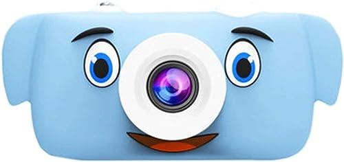 Kinder Digitalkamera Spielzeug kann Fotos Video Baby Fotografie Mini HD Kinder Urlaub Geburtstagsgeschenk nehmen (Farbe   Blau, Größe   16GB)