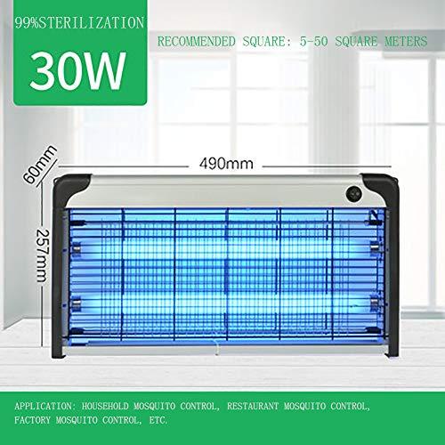 YK ZAOOER Mückenschutz Lampe Multifunktionale Anti-Fliegen Fliegen-Moskito-Lampe Gewerbe Mosquito-Lampe Professionelle elektronische Inneninsektenvernichter,Normal Version