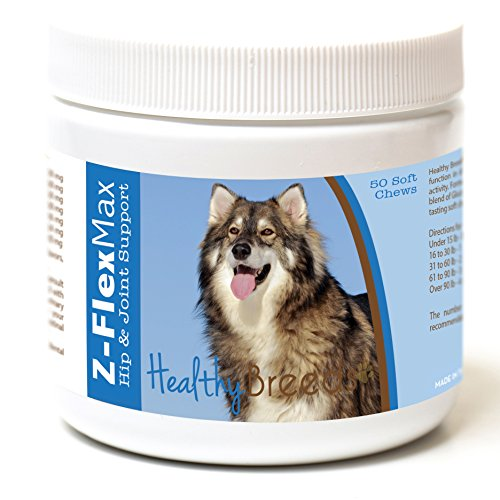 Healthy Breeds Z Flex Max Hip & Joint Supplement Soft Chews for...