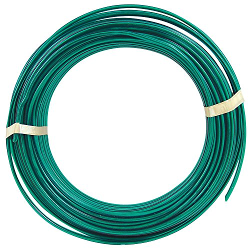 OOK 534814 Green Coated Clothesline Wire 100