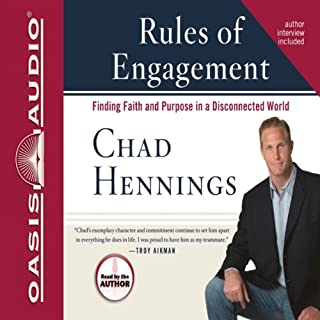 Rules of Engagement                   By:                                                                                                                                 Chad Hennings,                                                                                        Michael Levin                               Narrated by:                                                                                                                                 Chad Hennings                      Length: 4 hrs and 51 mins     4 ratings     Overall 5.0