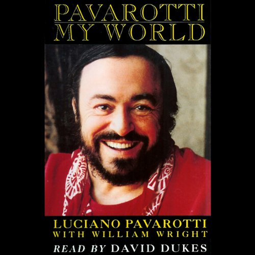 Pavarotti audiobook cover art