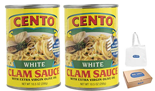 Cento White Clam Sauce, 15-Ounce, Pack of 2