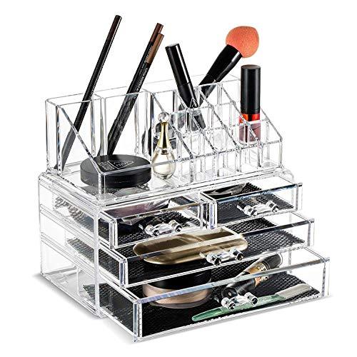 Chenyu Organiseur de Maquillage, DE Grande capacité Multifonction Multicouche Organiseur Boîte de Rangement