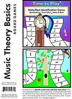 Time to Play Music Theory Game (Learn Musical Notes/Rests and their Time Value)