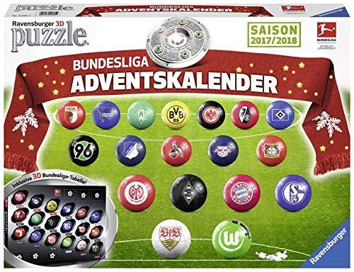 Bundesliga Adventskalender 2017. Erlebe Puzzeln in Der 3. Dimension
