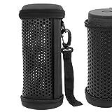Geekria Auriculares Funda Blando para JBL Flip 5, Wireless Bluetooth Speaker, Bolsa de Viaje Auriculares, Estuche Portáti (Negro)