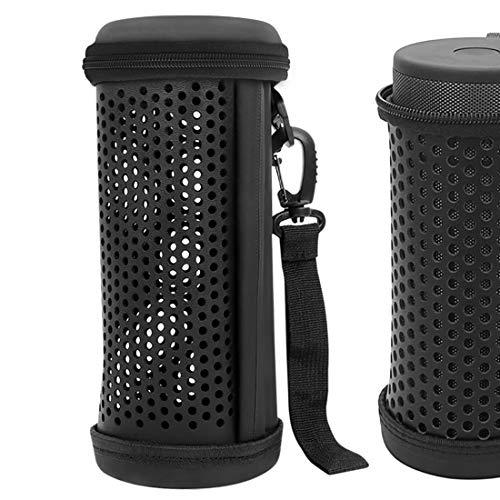 Geekria Hanger Speaker Case voor JBL FLIP 5, Draadloze Bluetooth Speaker Bag voor Camping, Draagbaar, Rugzakken, Fietsen, Reizen, Reizen, JBL FLIP5 Box (zwart)