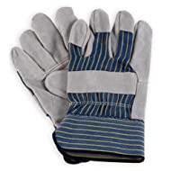 Men's Leather Work Gloves - Leather Palm - 3106 - by Wells Lamont - Size S
