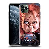 Head Case Designs Officially Licensed Bride of Chucky Doll Key Art Soft Gel Case Compatible with Apple iPhone 11 Pro Max