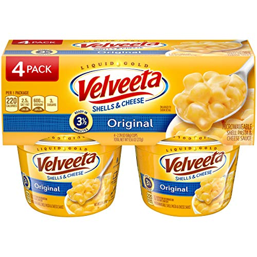 Kraft Velveeta - Shells & Cheese Cups (4x68g)