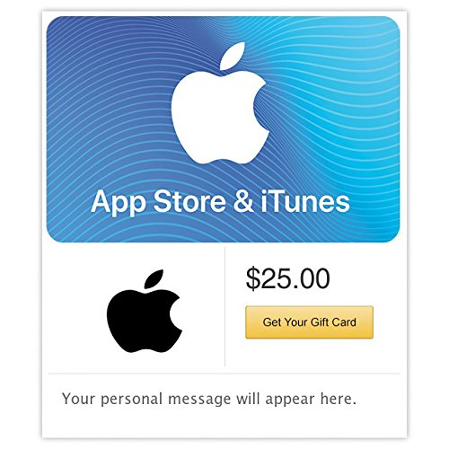 App Store & iTunes Gift Cards Configuration Asin - Email Delivery