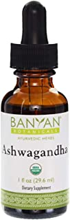 Banyan Botanicals Organic Ashwagandha Extract – Withania somnifera – for Healthy Adrenals & Immune System, Stress Relief, ...
